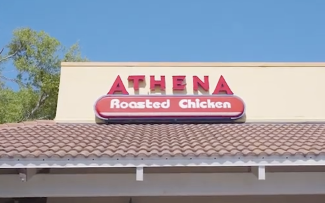Athena Roasted Chicken Disinfection Video COVID-19 2020