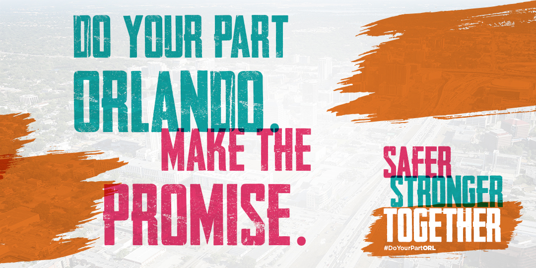 """""""Stronger, Safer – Together"""" by Orange County Government"""